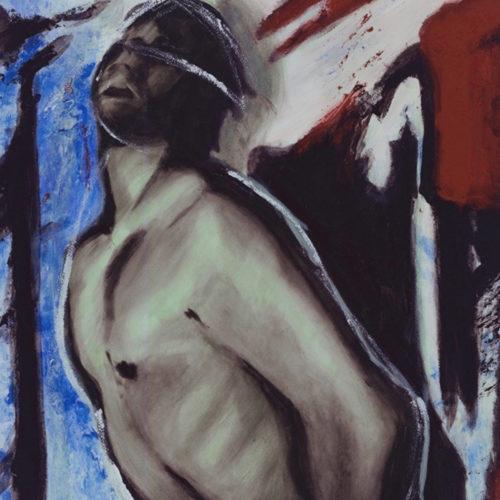 Cadaquès I, Acrylique sur papier, Sylvio Boudreau,1998