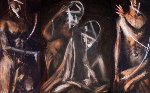 Complicité sur musique brune, Tryptique, 2002